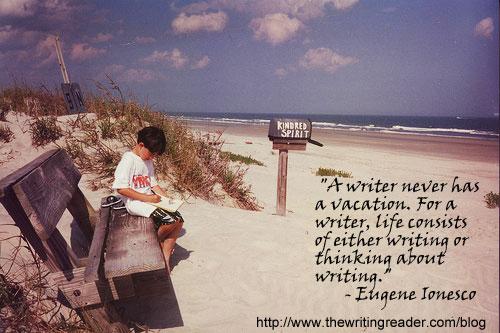 writer-vacation
